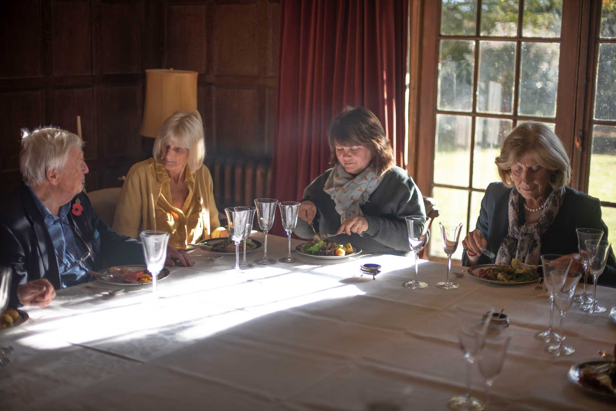 Pittleworth Manor Literary lunch, Stockbridge Winchester