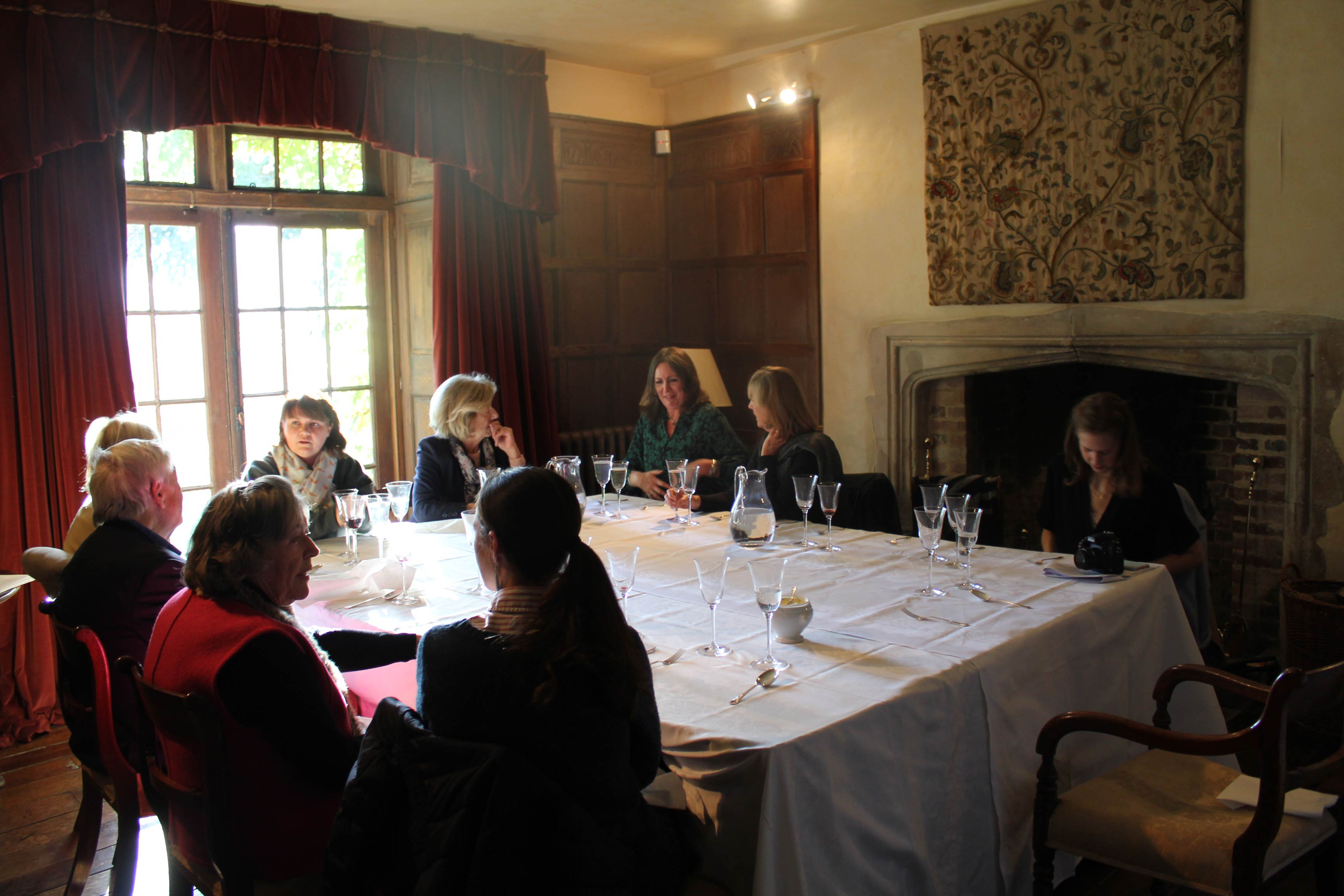 Pittleworth Manor Stockbridge Winchester Literary Lunch